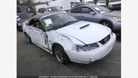 2002 Ford Mustang GT Convertible for sale 101141905