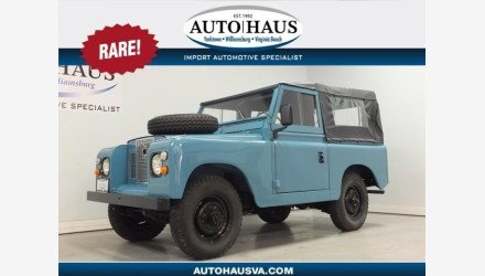 1969 Land Rover Series II for sale 101142216