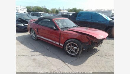 2000 Ford Mustang Convertible for sale 101142794