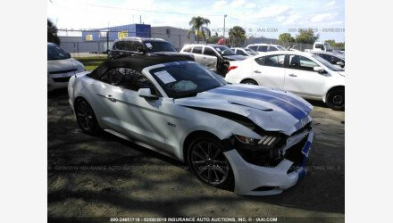 2015 Ford Mustang GT Convertible for sale 101142852