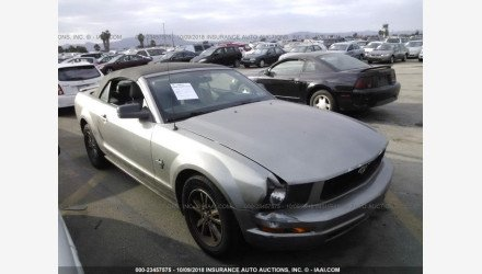 2009 Ford Mustang Convertible for sale 101142865