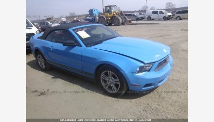 2010 Ford Mustang Convertible for sale 101142877