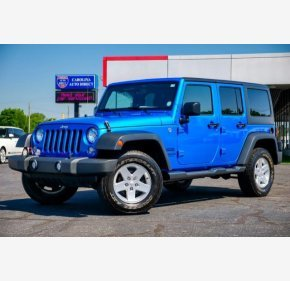 2015 Jeep Wrangler 4WD Unlimited Sport for sale 101142977