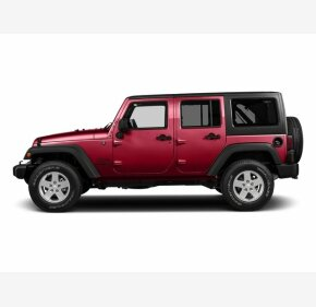 2016 Jeep Wrangler 4WD Unlimited Sport for sale 101143136