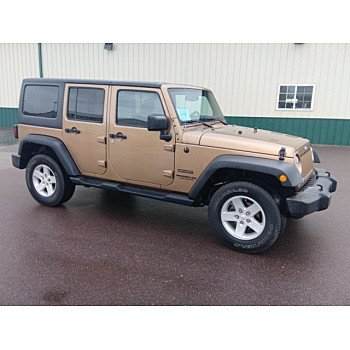 2015 Jeep Wrangler 4WD Unlimited Sport for sale 101143189