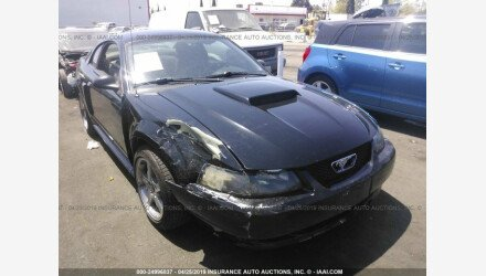 2002 Ford Mustang GT Coupe for sale 101143380
