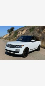 2016 Land Rover Range Rover HSE for sale 101143596