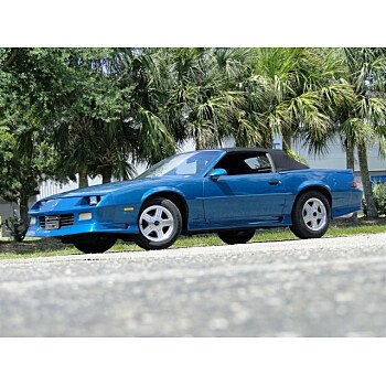 1991 Chevrolet Camaro RS Convertible for sale 101143660