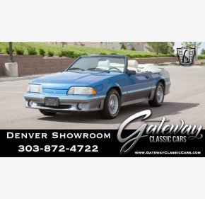1987 Ford Mustang GT Convertible for sale 101144061