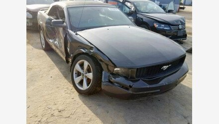 2009 Ford Mustang Convertible for sale 101144215