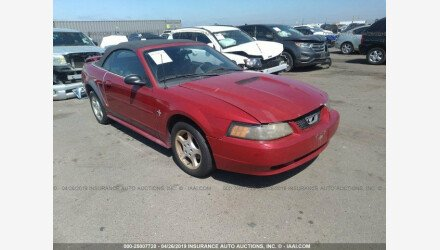 2002 Ford Mustang Convertible for sale 101144362