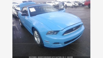 2013 Ford Mustang Convertible for sale 101144371
