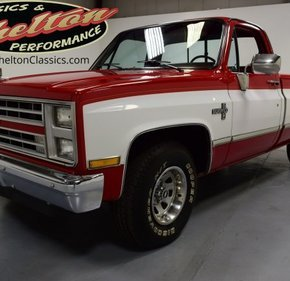 1987 Chevrolet C/K Truck 2WD Regular Cab 1500 for sale 101144563