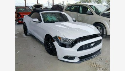 2016 Ford Mustang Convertible for sale 101144880