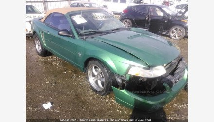 2000 Ford Mustang Convertible for sale 101145010