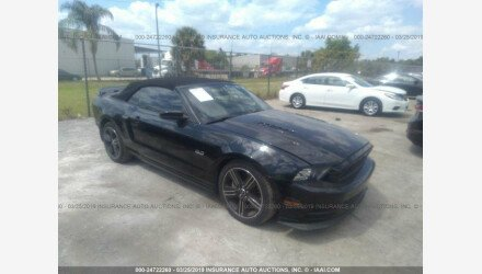 2013 Ford Mustang GT Convertible for sale 101145038