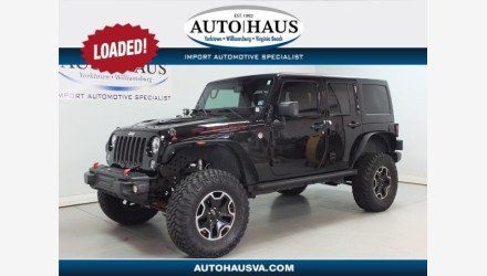 2015 Jeep Wrangler 4WD Unlimited Rubicon for sale 101145232