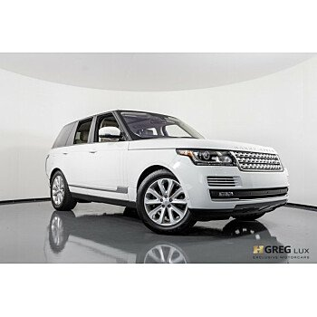 2016 Land Rover Range Rover HSE for sale 101145284