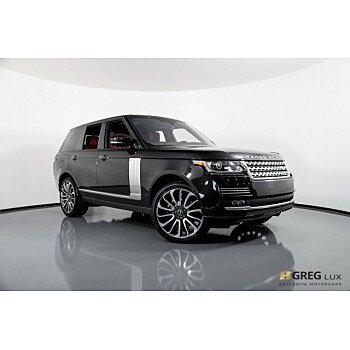 2015 Land Rover Range Rover Autobiography for sale 101145287