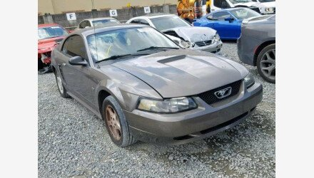 2002 Ford Mustang Coupe for sale 101145681