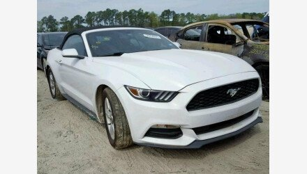 2015 Ford Mustang Convertible for sale 101145744