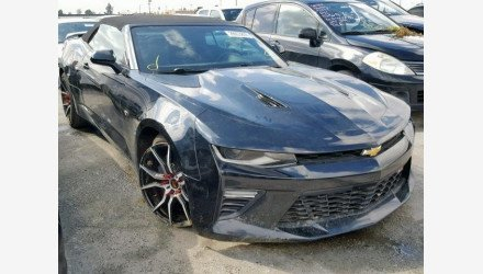 2017 Chevrolet Camaro SS Convertible for sale 101145752