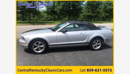 2005 Ford Mustang Convertible for sale 101146285