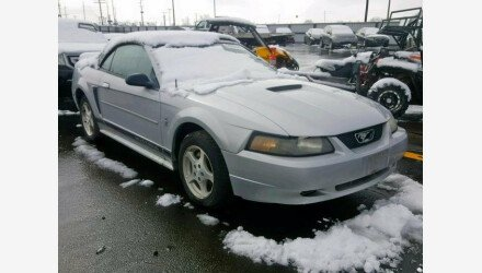 2002 Ford Mustang Convertible for sale 101146497