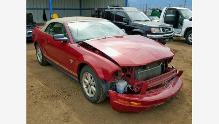 2009 Ford Mustang Convertible for sale 101146577