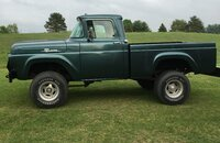 1959 Ford F100 2WD Regular Cab for sale 101147027
