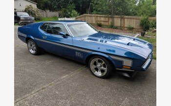 1972 Ford Mustang Mach 1 Coupe for sale 101147079