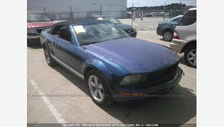 2007 Ford Mustang Convertible for sale 101147256