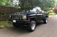 1975 Chevrolet C/K Truck 4x4 Regular Cab 2500 for sale 101147542