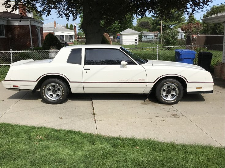 1985 Chevrolet Monte Carlo SS for sale near Troy, Michigan 48084