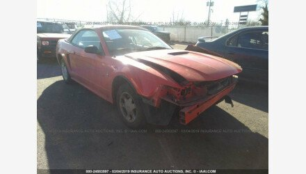 2000 Ford Mustang Convertible for sale 101149328