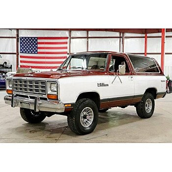 1984 Dodge Ramcharger AW 100 4WD for sale 101150148