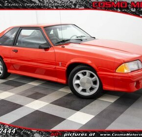 1993 Ford Mustang Cobra Hatchback for sale 101150291