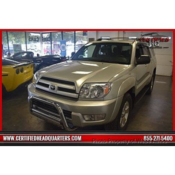 2004 Toyota 4Runner 4WD for sale 101150790
