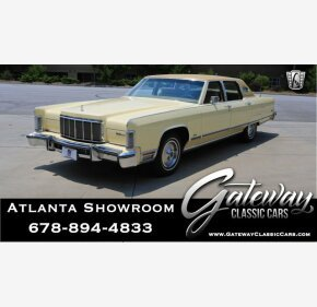 1976 Lincoln Continental for sale 101150810