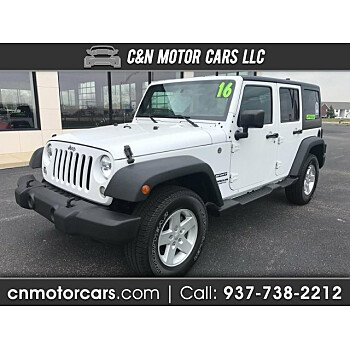2016 Jeep Wrangler 4WD Unlimited Sport for sale 101151107
