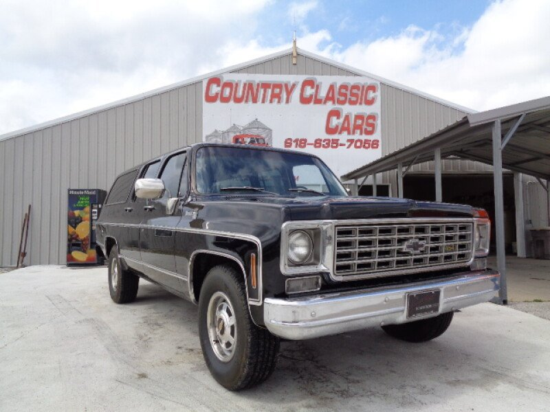1976 Chevrolet Suburban For Sale Near Staunton Illinois 62088 Classics On Autotrader
