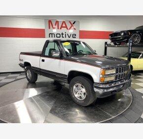 1993 Chevrolet Silverado 1500 4x4 Regular Cab for sale 101151400
