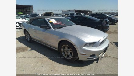 2014 Ford Mustang Convertible for sale 101151588