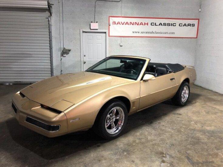 Cars For Sale Savannah Ga: 1987 Pontiac Firebird Coupe For Sale Near Savannah