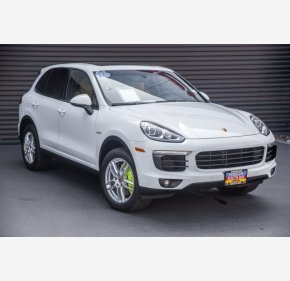 2016 Porsche Cayenne S E-Hybrid for sale 101152452