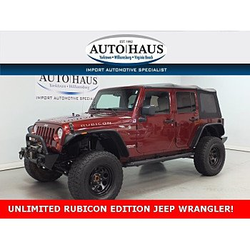 2008 Jeep Wrangler 4WD Unlimited Rubicon for sale 101152500