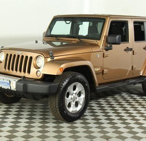 2015 Jeep Wrangler 4WD Unlimited Sahara for sale 101152569