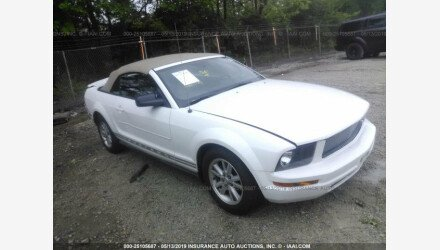 2007 Ford Mustang Convertible for sale 101153111