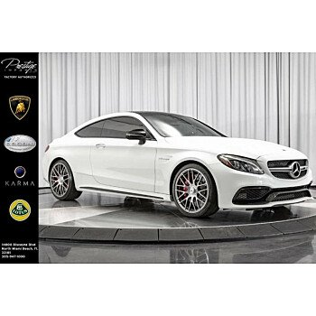 2018 Mercedes-Benz C63 AMG S Coupe for sale 101153254