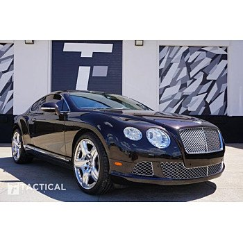 2012 Bentley Continental GT Coupe for sale 101153278